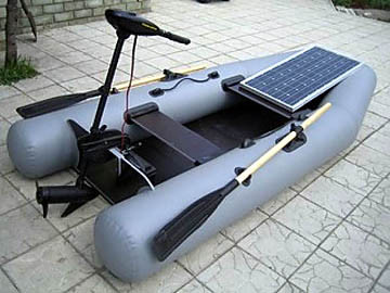 Солнечное зарядное для лодочного мотора 10 Вт