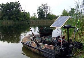 Солнечное зарядное для лодочного мотора 10 Вт , фото 2