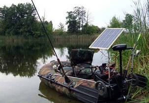 Солнечное зарядное для лодочного мотора 40 Вт , фото 2