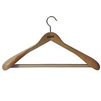 Вешалки плечики деревянные широкие
