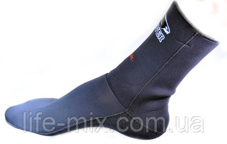 Неопреновые гидро носки BS DIVER ULTRALEX 5mm