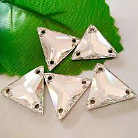 Треугольник пришивной Crystal 22х22мм