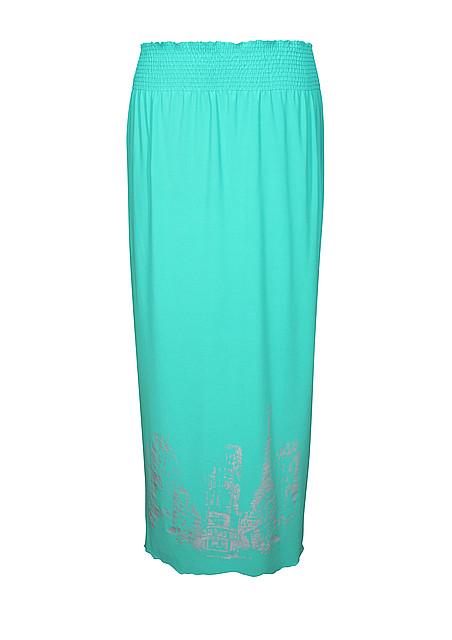 Длинная юбка для полных Париж