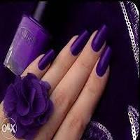 Покрытие лаком нарощенных ногтей