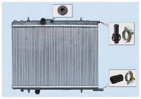 Радиатор охлаждения Peugeot 806 (1.8-2.0) 600*470мм по сотах KEMP