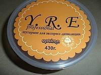 Шугаринг YRE сахарная паста для экспресс депиляции 430 гр.