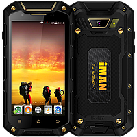 """IMAN i5800C, IP-67, 3000 мАч, ОЗУ 1 GB, 4 ядра, GPS, 5 Mpx, 3G, Android 4.4.2, дисплей 4.5"""""""