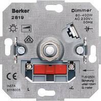 Поворотный диммер для ЛН и ВВГЛ 60-400 Вт. Berker 281901
