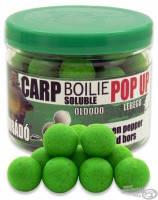 Бойлы плавающие растворимые Haldorado Carp Soluble Pop Up  16 мм  40 гр  Зеленый перец