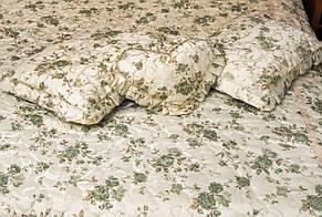 Покрывало на три рюши в мелкие цветы двуспальное, фото 2