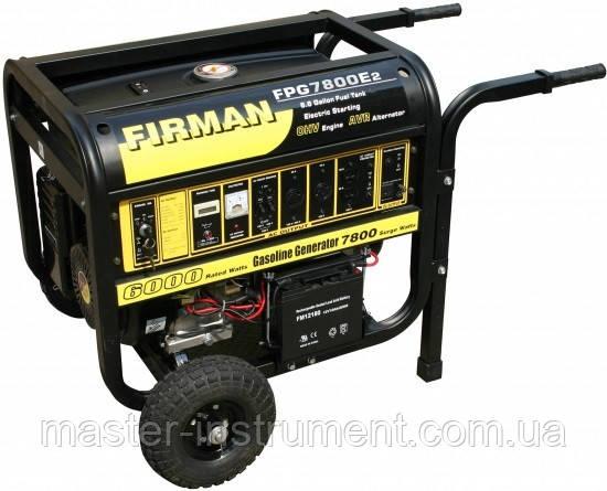 Электрогенератор FIRMAN FPG 7800 E2