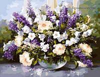 Картина по номерам Идейка Летний букет КН1050 40 х 50 см