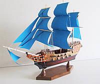 Парусниковый корабль ручной работы
