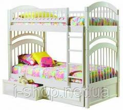 Двухъярусная кровать Артемон - 90х200 см, орех, фото 2