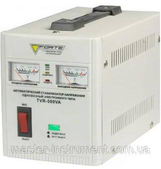 Стабилизатор напряжения релейный FORTE TVR-500VA