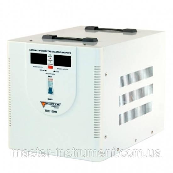 Стабилизатор напряжения релейный FORTE TDR-10000VA