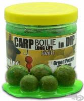Бойлы насадочные Carp Haldorado in Dip до 48 часов 16 -20 мм 100 гр  Зеленый перец