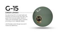 Уже в продаже! Знаменитая серия солнцезащитных очков Ray Ban Aviator 3026 серия G-15 lens.