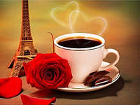 Набор алмазной вышивки Кофе с шоколадом KLN 30 х 20 см (арт. FS048)