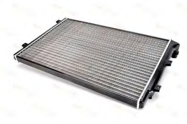 Радиатор охлаждения Skoda Octavia 2005- (2.0 TDI-TFSI) 650*445мм по сотах KEMP