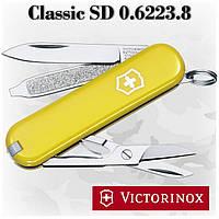 Нож Victorinox Сlassic SD 0.6223.8 желтый, 7 функций