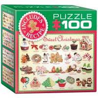 Пазли Eurographics Різдвяні частування №2 100 елементів