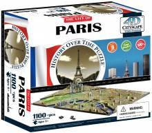 4d пазл  город 'Париж, Франция', Cityscape 40028