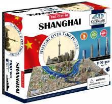 4d пазл  город 'Шанхай, Китай', Cityscape 40040
