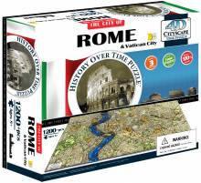 4d пазл город Рим Италия Cityscape 40042