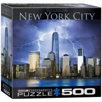 Красочные пазлы 'Нью-Йорк - Всемирный торговый центр, 500 элементов