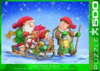 Красочные пазлы 'Рождественские сани, 500 элементов