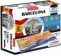 Объемные пазлы  город 'Барселона, Испания' 4D Cityscape