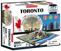 Объемные пазлы  город 'Торонто, Канада'  4D Cityscape