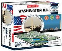Объемные пазлы  город 'Вашингтон, США' 4D Cityscape