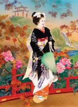 Пазлы картины художников Хигаса Харуйо Морита 1000 элементов