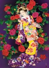 Пазлы картины художников Цубаки Харуйо Морита 1000 элементов