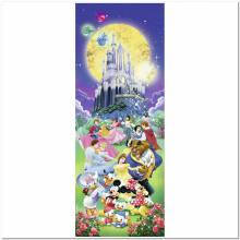 Пазлы Мультфильмы и сказки 'Диснеевский замок, 1000 элементов. Панорамный '