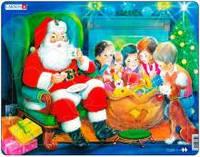 Рамки-вкладыши ' Дед Мороз с детьми, серия Макси ' Larsen JUL14