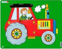 Пазлы Larsen  Трактор серия Макси Larsen NM3