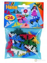 Подставки для термомозаики Миди от 5-ти лет, 24шт, 6 цветов, Hama 645