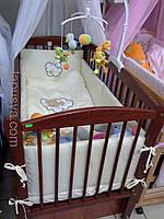 """Дитяче ліжечко Дубок """"Еліт """" тік з відк.боковинкою та шухлядою."""