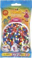 Бусины для термомозаики пакете 1000шт., 10 цветов ( Hama 207-00 )