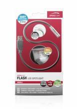 Светодиодный фонарик для освещения клавиатуры ноутбука FLASH LED Spotlight, black SL-7402-BK