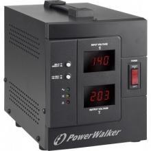Стабилизатор напряжения 220в PowerWalker 1500VA (1200W) (10120305)