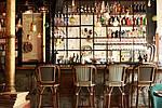 Винтажный интерьер в кафе