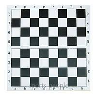 Картонная доска для игр в шашки и шахматы, 30 x 30 см.