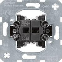 Механизм выключателя 2-клавишный, Berker 3035