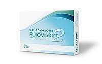 Контактные линзы Pure Vision 2  (6шт)-960 грн. 1шт  -160 грн