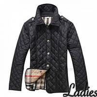 Куртка женская Стежка 21 черная, магазин курток