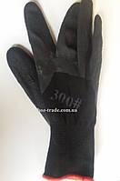 Перчатка из нейлона и пены черная 300